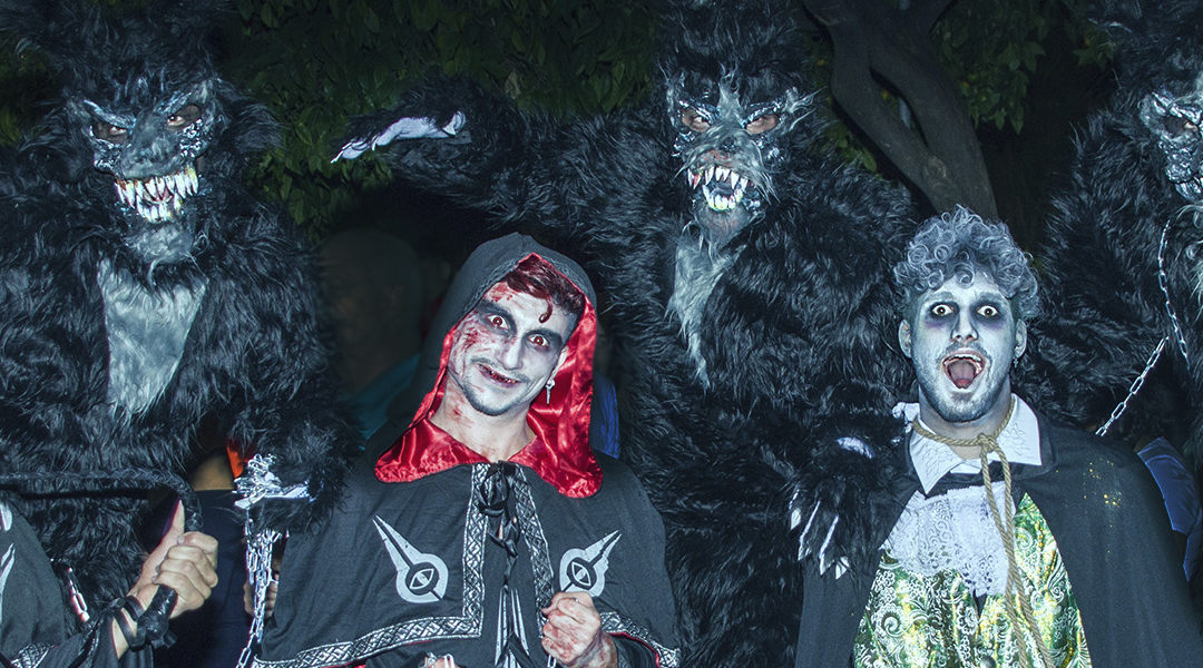Halloween en Marbella.