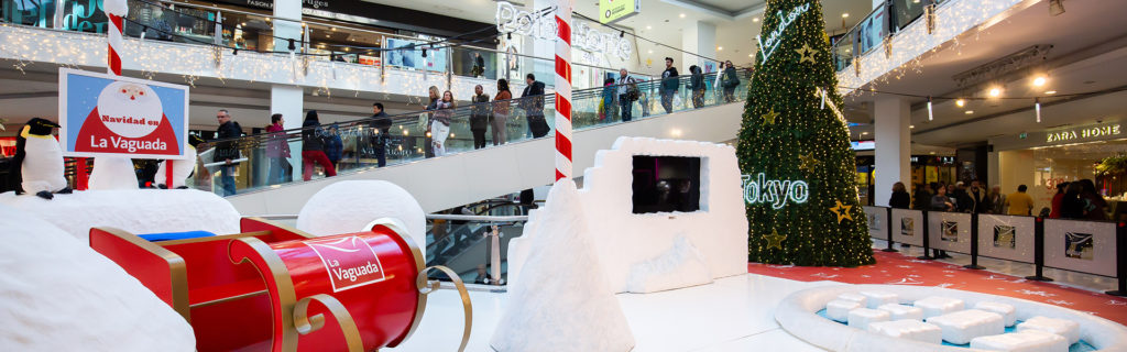 Navidad en Centro Comercial La Vaguada 2019 - Mas animación