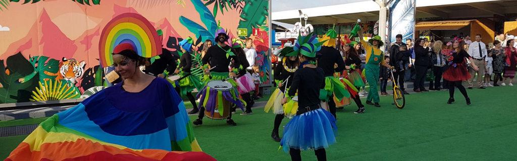 desfile primavera CC Miramar