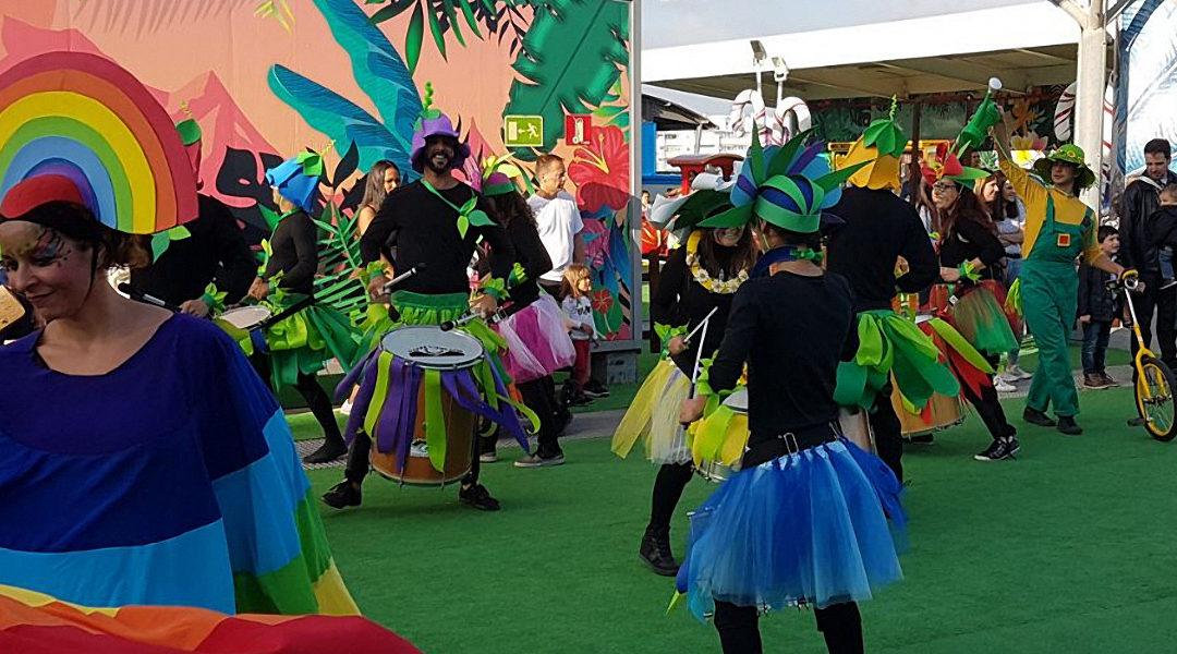 Desfile de primavera en C.C. Miramar